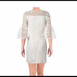 Ralph Lauren white lace dress